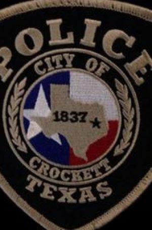 Crockett Police Badge